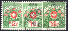 Switzerland 1927-34 Charity Hospitals set fine used.