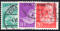 Switzerland 1935-43 Charity Hospitals set grilled gum with control figures fine used. fine used.