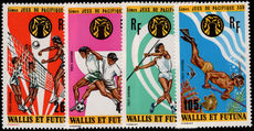 Wallis and Futuna 1975 South Pacific Games unmounted mint.