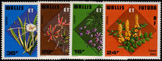 Wallis and Futuna 1978 Tropical Flowers unmounted mint.