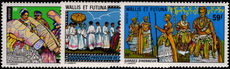 Wallis and Futuna 1978 Costumes and Traditions unmounted mint.