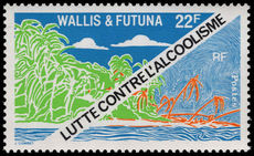Wallis and Futuna 1979 Anti-Alcohol Campaign unmounted mint.