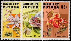 Wallis and Futuna 1979 Flowers unmounted mint.