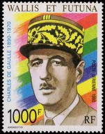 Wallis and Futuna 1990 General de Gaulle unmounted mint.