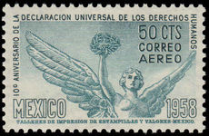 Mexico 1958 Human Rights unmounted mint.