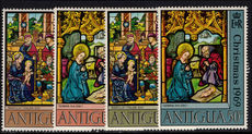 Antigua 1969 Christmas. Stained-glass Windows unmounted mint.