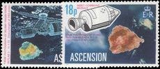 Ascension 1975 Space satellites unmounted mint.