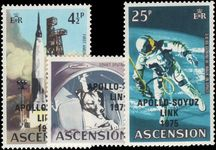 Ascension 1975 Apollo-Soyuz unmounted mint.