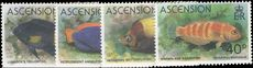 Ascension 1980 Fish unmounted mint.