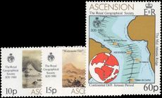 Ascension 1980 Royal Geographical Society unmounted mint.