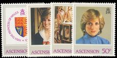 Ascension 1982 Princess Diana unmounted mint.