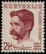 Australia 1949 Henry Lawson unmounted mint.