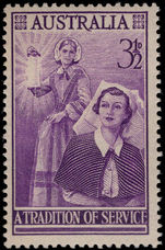 Australia 1955 Nursing unmounted mint.