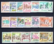 Bermuda 1970 Decimal set unmounted mint.
