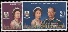 Bermuda 1975 Royal Visit unmounted mint.