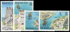 Bermuda 1982 Historic Forts unmounted mint.