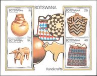 Botswana 1979 Handicrafts souvenir sheet unmounted mint.
