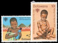 Botswana 1979 Year of the Child unmounted mint.