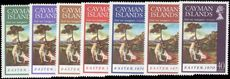 Cayman Islands 1970 Easter Art unmounted mint.