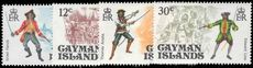 Cayman Islands 1975 Pirates unmounted mint.