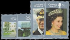Cayman Islands 1983 Royal Visit unmounted mint.