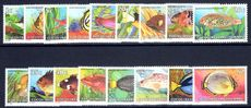 Cocos (Keeling) Islands 1979 Fish unmounted mint.