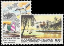 Cocos (Keeling) Islands 1979 Christmas unmounted mint.