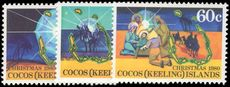 Cocos (Keeling) Islands 1980 Christmas unmounted mint.