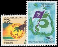 Cocos (Keeling) Islands 1982 Boy Scouts unmounted mint.