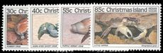 Christmas Island 1985 Crabs 1st issue unmounted mint.