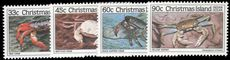 Christmas Island 1985 Crabs 3rd issue unmounted mint.