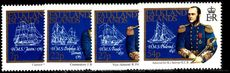 Falkland Islands 1985 Early Cartographers unmounted mint.
