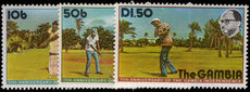 Gambia 1976 Independence Anniversary unmounted mint.