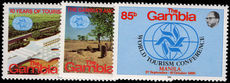 Gambia 1981 Tourism Conference unmounted mint.