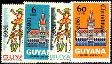 Guyana 1969 Christmas unmounted mint.