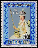 Isle of Man 1978 25th Anniversary of Coronation unmounted mint.