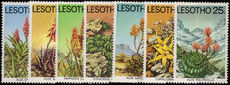 Lesotho 1977 Aloes and Succulents unmounted mint.