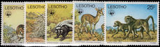 Lesotho 1977 Animals unmounted mint.