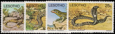 Lesotho 1979 Reptile no watermark unmounted mint.
