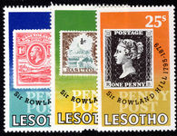 Lesotho 1979 Rowland Hill unmounted mint.
