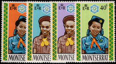 Montserrat 1970 Girl Guides unmounted mint.