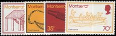 Montserrat 1975 Carib Artifacts unmounted mint.