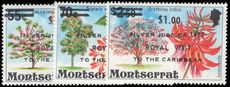 Montserrat 1977 Royal Visit unmounted mint.