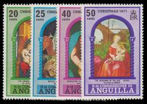 Anguilla 1971 Christmas unmounted mint.