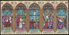 Anguilla 1972 Easter. Stained Glass Windows unmounted mint (folded).