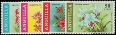 Anguilla 1969 Flowers of the Caribbean unmounted mint.