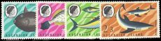 Ascension 1968 Fishes (1st series) unmounted mint.