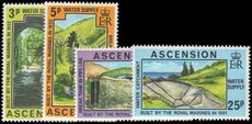 Ascension 1977 Water Supplies unmounted mint.