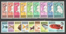 Barbuda 1968-70 set unmounted mint.