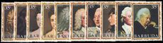 Barbuda 1970-71 set from James II to Queen Victoria unmounted mint.